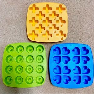 Set of 3 IKEA Ice Cube Trays